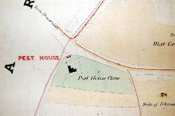 The Totternhoe Pest House in 1840 [BW1006a]